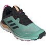 adidas TERREX Agravic Flow GTX Trail Running Schuhe Damen türkis/schwarz