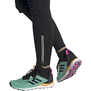 adidas TERREX Agravic Flow GTX Trail Running Schuhe Damen acid mint/core black/screaming pink acid mint/core black/screaming pink