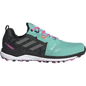 adidas TERREX Agravic GTX Trail Running Shoes Men acid mint/grey four/screaming pink acid mint/grey four/screaming pink