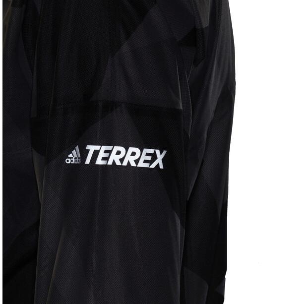adidas TERREX Agravic TR Graphic Rain Jacket Women, grey six