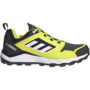 adidas TERREX Agravic TR Trail Running Shoes Men, noir/jaune noir/jaune