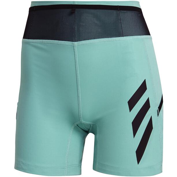 adidas TERREX Agravic TR Pro Trail Running Shorts Damen acid mint