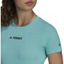 adidas TERREX Parley Agravic TR Allaround T-Shirt Damen türkis