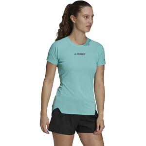 adidas TERREX Parley Agravic TR Allaround T-Shirt Damen acid mint acid mint