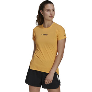 adidas TERREX Parley Agravic TR Allaround T-Shirt Women, orange orange