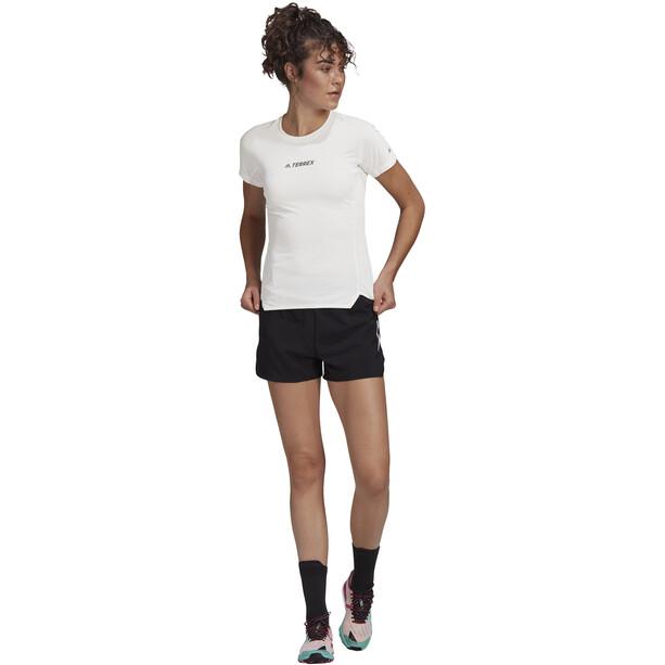 adidas TERREX Parley Agravic TR Allaround T-Shirt Damen weiß