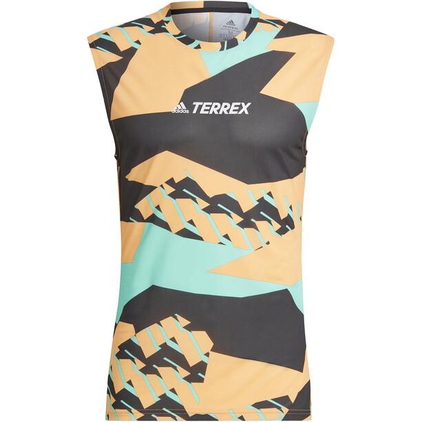 adidas TERREX Parley Agravic TR Tank Top Herren hazy orange