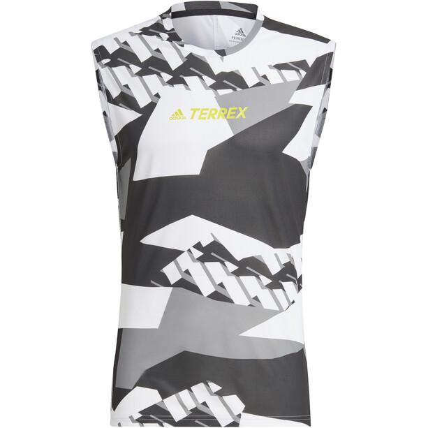 adidas TERREX Parley Agravic TR Tank Top Herren weiß/grau