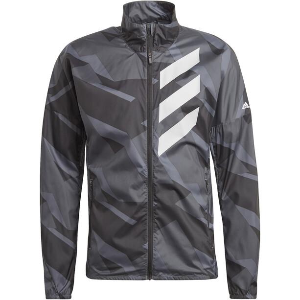 adidas TERREX Parley Agravic TR Windbreaker Men, grey six