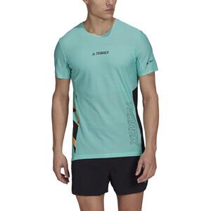 adidas TERREX Parley Agravic TR Pro T-Shirt Herren acid mint/black acid mint/black