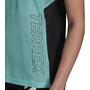 adidas TERREX Parley Agravic TR Pro T-Shirt Damen acid mint/black