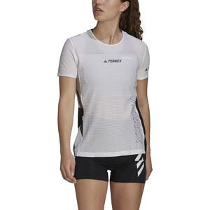 adidas TERREX Parley Agravic TR Pro T-Shirt Damen white/black white/black