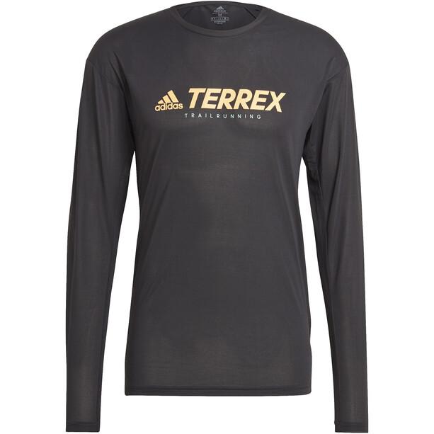adidas TERREX Primeblue Trail Longsleeve Shirt Men svart