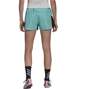 adidas TERREX Primeblue Trail Shorts Women, turkoosi turkoosi
