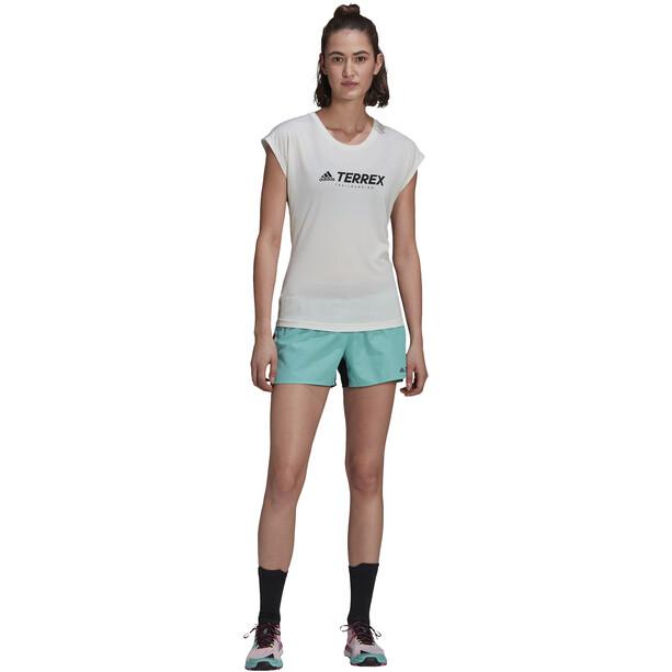 adidas TERREX Primeblue Trail Shorts Women, acid mint