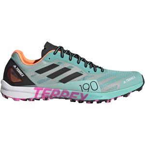 adidas TERREX Speed Pro Trail-juoksukengät Miehet, turkoosi/harmaa turkoosi/harmaa