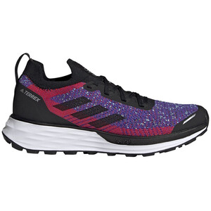adidas TERREX Two Parley Trail Running Shoes Women, noir/violet noir/violet