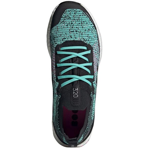 adidas TERREX Two Ultra Parley Trail Running Schuhe Herren acid mint/core black/screaming pink