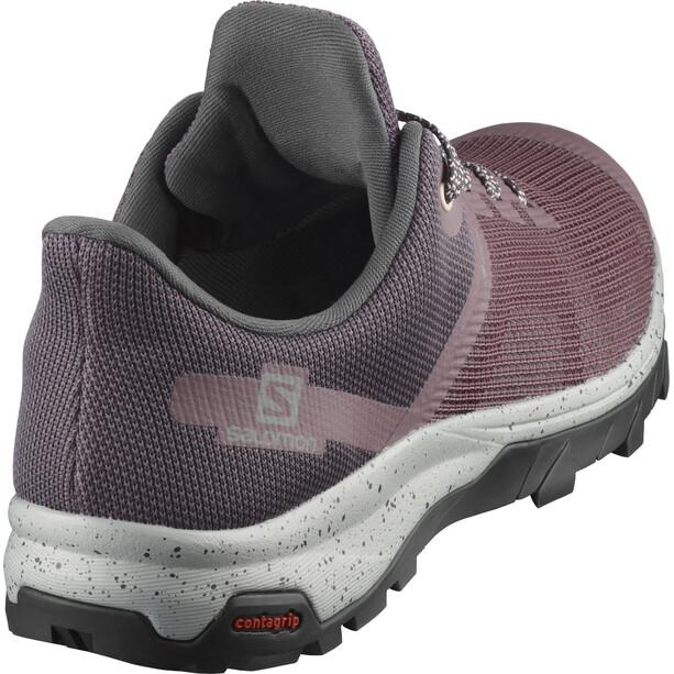 Salomon Outline Prism GTX Shoes Women pink/violett