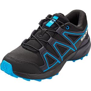 Salomon Speedcross Shoes Kids svart/turkos svart/turkos
