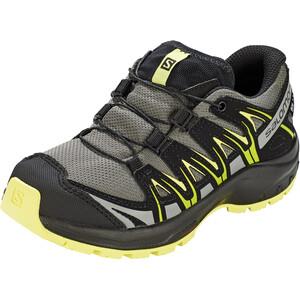 Salomon XA Pro 3D CSWP Shoes Barn grå/gul grå/gul
