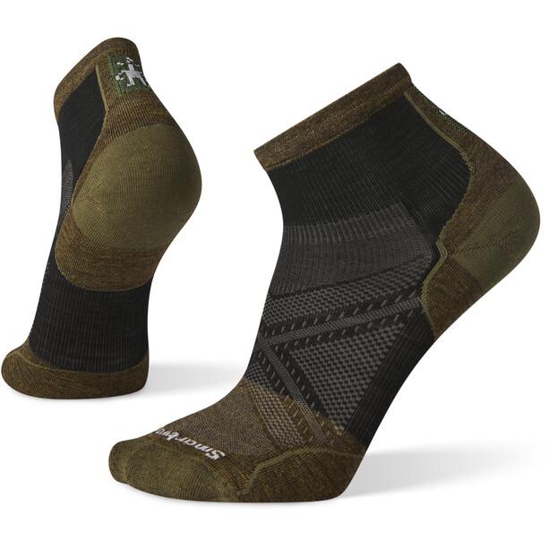 Smartwool PhD Cycle Ultra Light Pattern Mini Socks Men svart