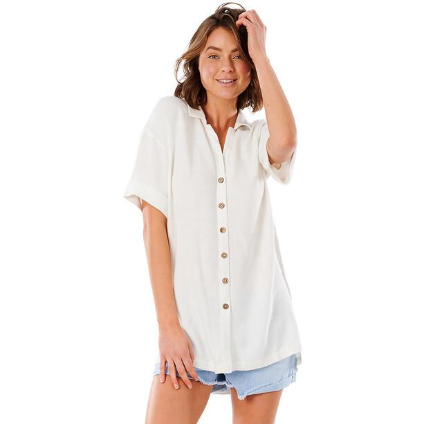 Rip Curl Ashore Stripe Shirt Women, bone