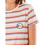 Rip Curl Cali Standard T-Shirt Damen beige/bunt