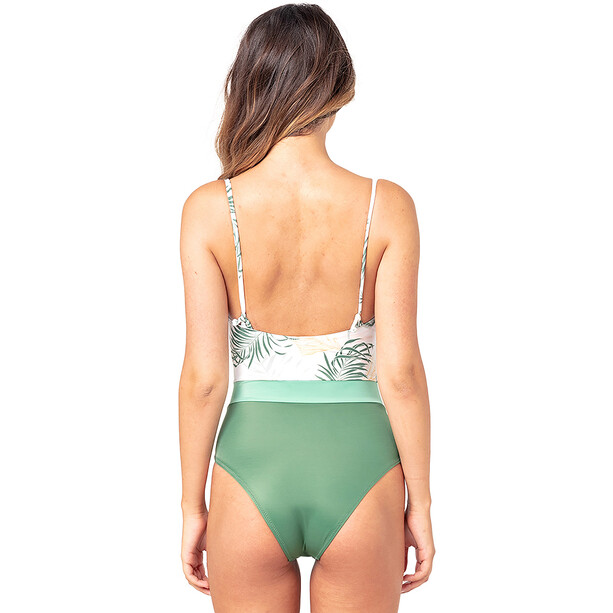 Rip Curl Coastal Palms Cheeky One Piece Swimsuit Women, white