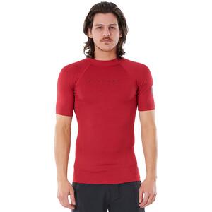 Rip Curl Down Patrol SS UV Shirt Men, rojo rojo