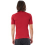 Rip Curl Down Patrol Kurzarm UV Shirt Herren red marle