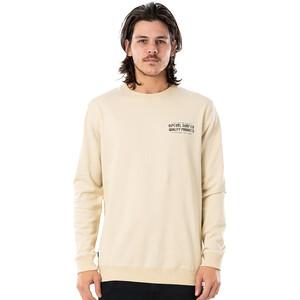 Rip Curl Garage Rundhals Sweater Herren bone bone