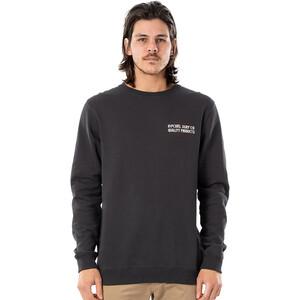 Rip Curl Garage Rundhals Sweater Herren washed black washed black
