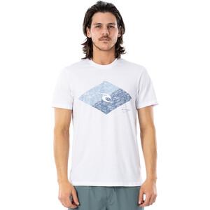 Rip Curl Icon Vaporcool T-Shirt Herren weiß/blau weiß/blau