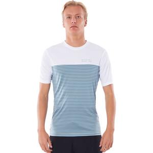 Rip Curl Constructor Kurzarm Shirt Herren blau/weiß blau/weiß
