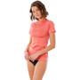 Rip Curl Golden Rays Kurzarm UV Shirt Damen coral