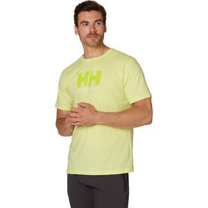 Helly Hansen HH Logo T-paita Miehet, sunny lime sunny lime