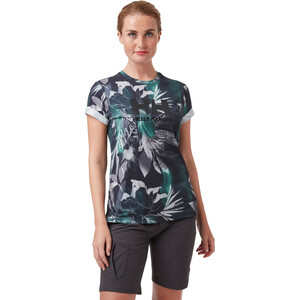 Helly Hansen HH Logo T-Shirt Damen midnight green esra print midnight green esra print