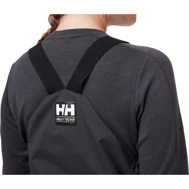 Helly Hansen Salt Coastal Bib Pants Women, harmaa