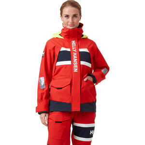 Helly Hansen Salt Coastal Jacket Women, alert red alert red