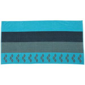 arena Beach Multistripes Towel, turkusowy/kolorowy turkusowy/kolorowy
