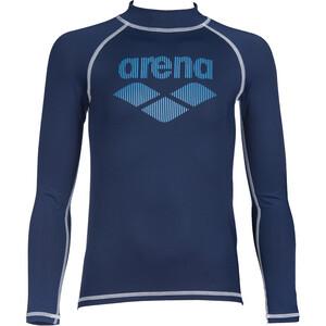arena Rash Langarm UV Shirt Jungen blau blau