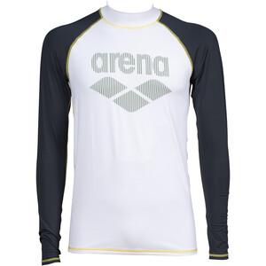 arena Rash Langarm UV Shirt Herren weiß/grau weiß/grau
