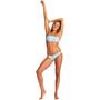 arena Allover Bandeau Bikini Women, Multicolore