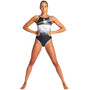 arena One Perspective One Piece Swimsuit Women, black/multi