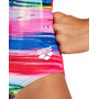 arena Rainbow Colors Pro Back One Piece Swimsuit Girls, Multicolore