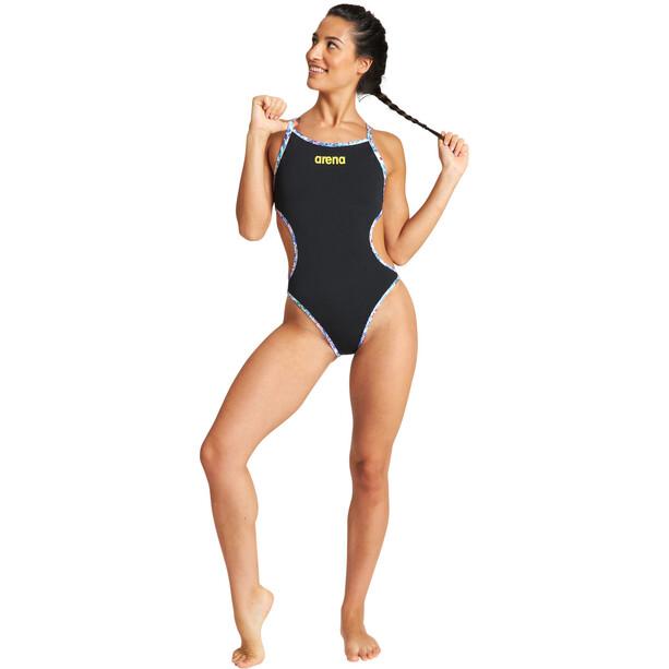 arena Rule Breaker One Piece Swimsuit Hooked Reversible Women, black/martinica