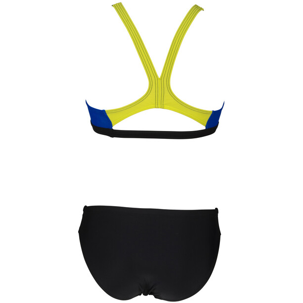 arena Threefold Bikini Women, musta