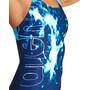 arena Vibration Pro Back One Piece Badeanzug Damen blau