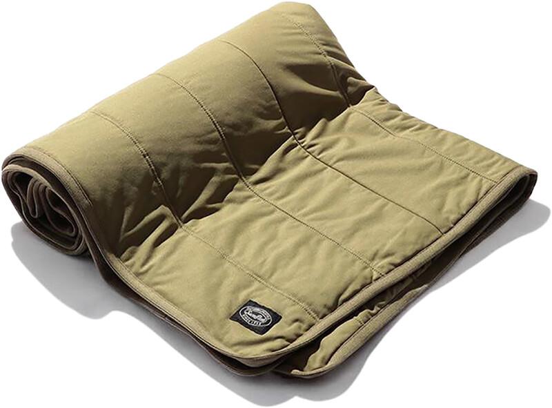 Snow Peak Flexible Insulated Blanket beige  2021 Reisetepper